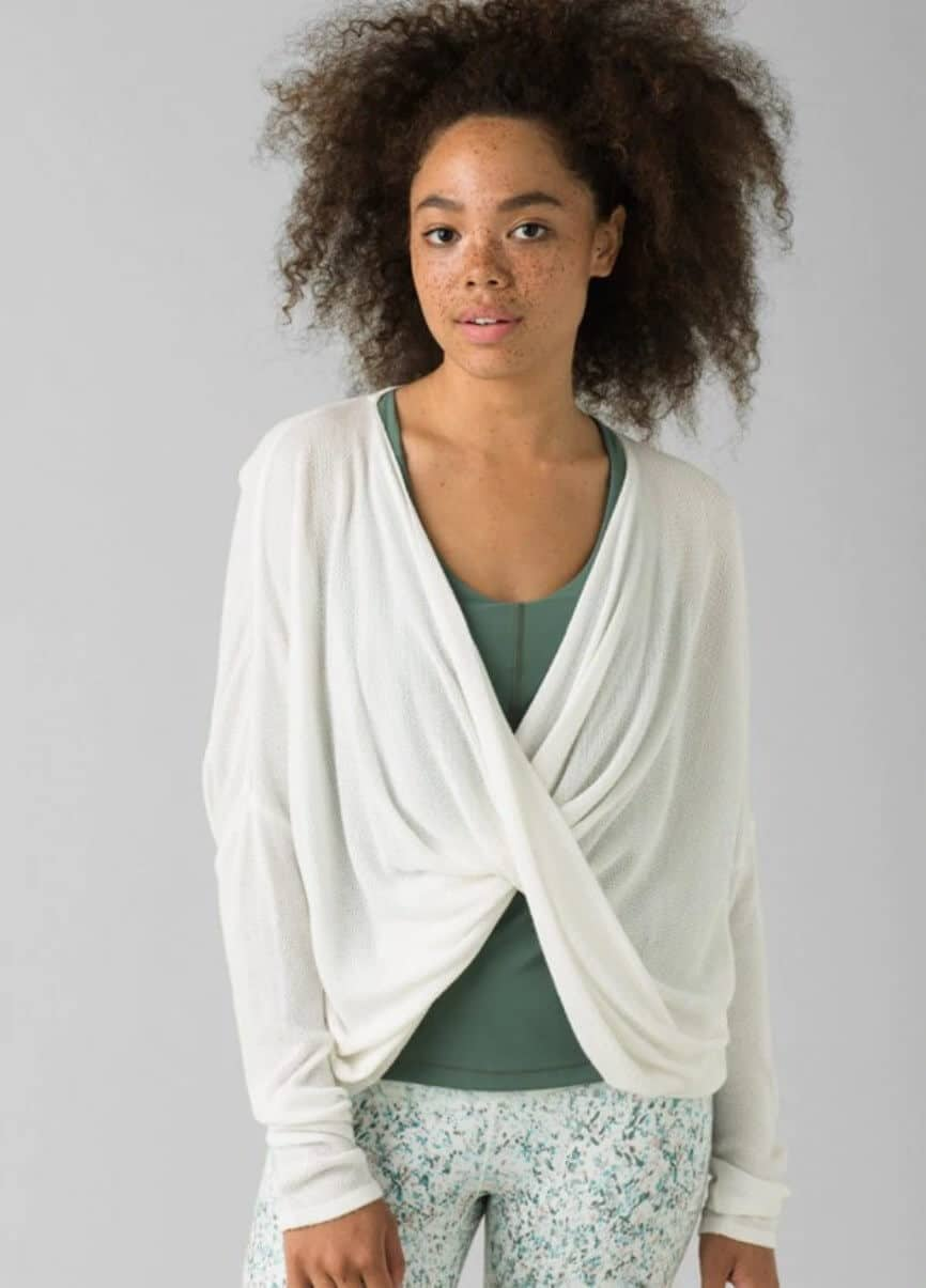While some of you may prefer to sleep in your sustainable skivvies and others in some luxe lingerie, sometimes you just need a good old fashioned pair of lounge PJs Image by prAna #fairtradepajamas #sustainablesleepwear