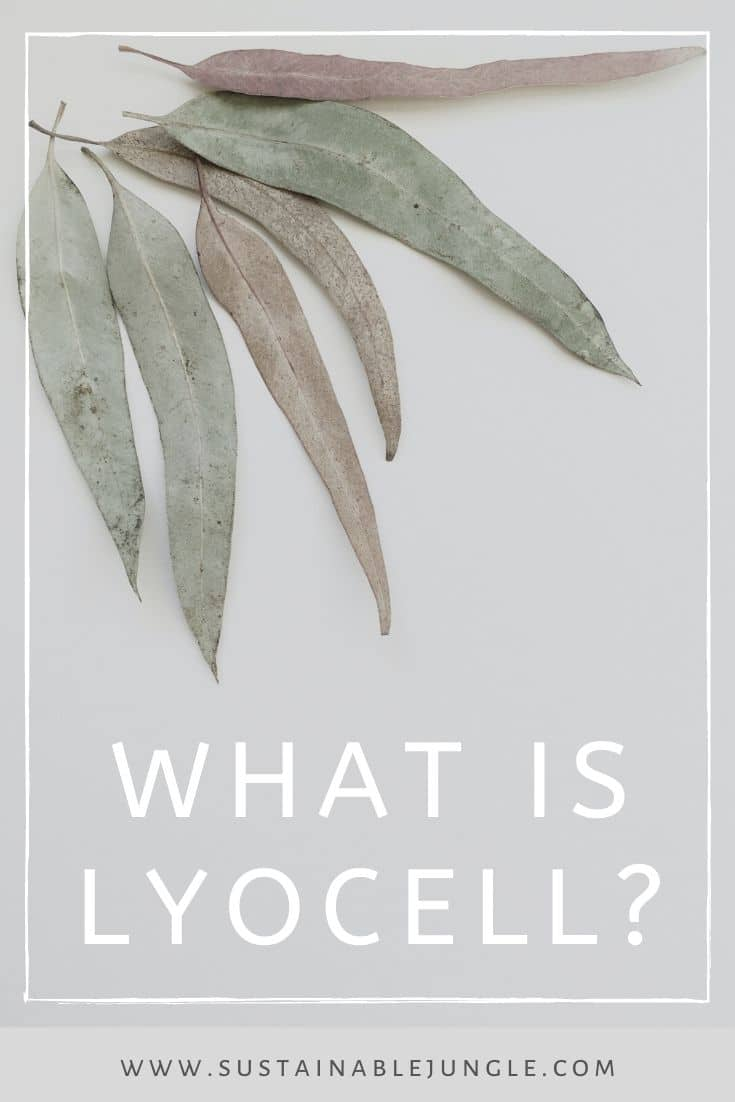 "If you've been paying close attention to some of the labels on your favorite sustainable clothes, you've probably seen the name lyocell (or ""TENCEL"")...a lot. So, what is lyocell fabric? Photo by Liliana Eira on Unsplash #sustainablefashion #lyocell"