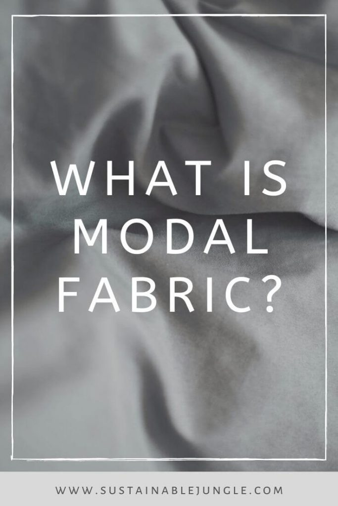 What is modal fabric? Does it live up to its hype as an eco-friendly fashion material? Photo by Sylvie Tittel on Unsplash #sustainablefashion