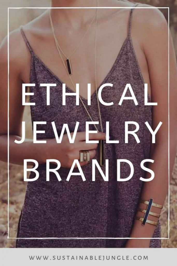 Jewelry is chained to a lot of environmental and social concerns. Fortunately, these sustainable and ethical jewelry brands are true diamonds in the rough. Image by Soko #sustainablejewelry #ethical jewelry