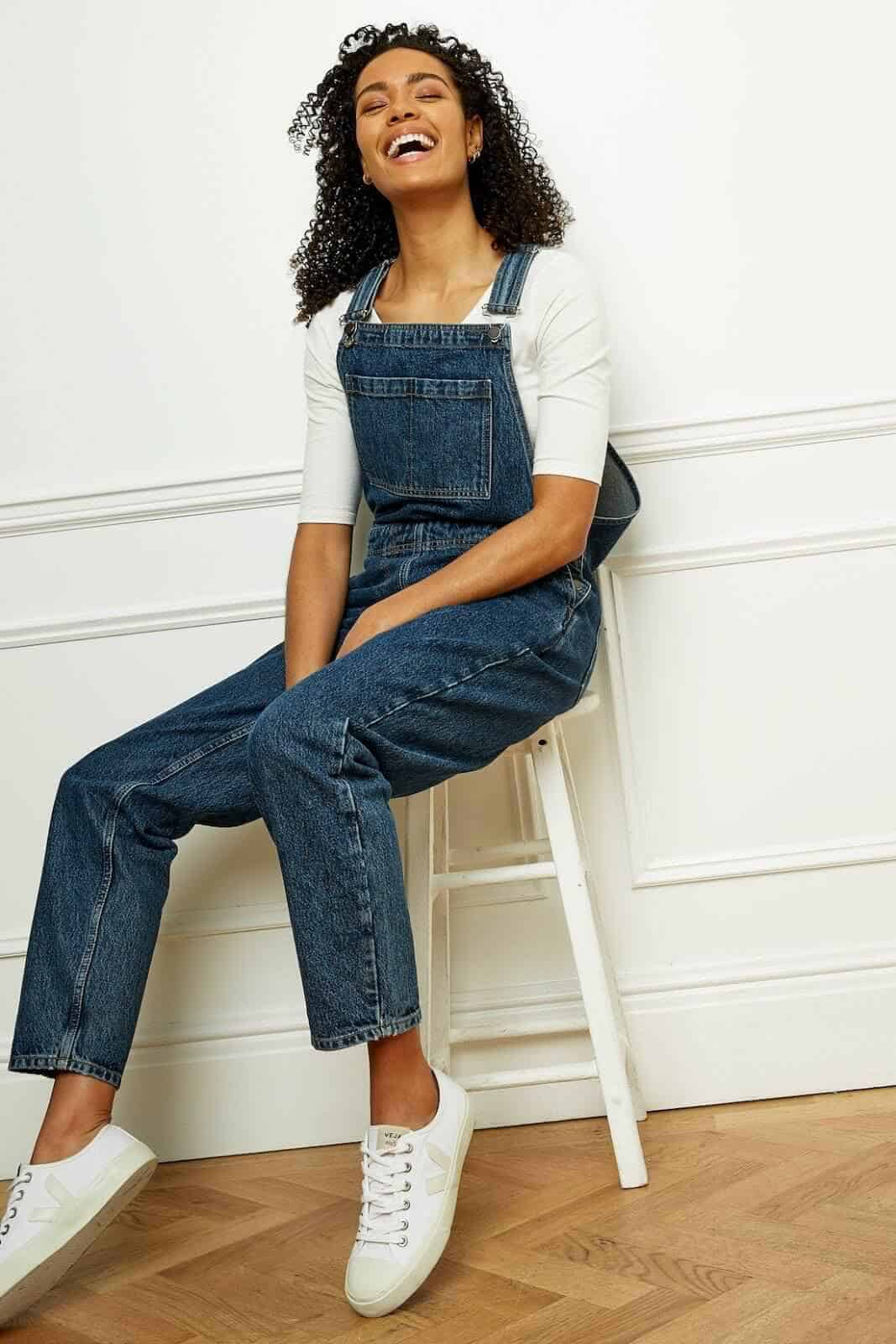 Green is the new blue! For sustainable ethical jeans that is. We're so impressed with these brands Image by People Tree #ethicaljeans #sustainablejungle