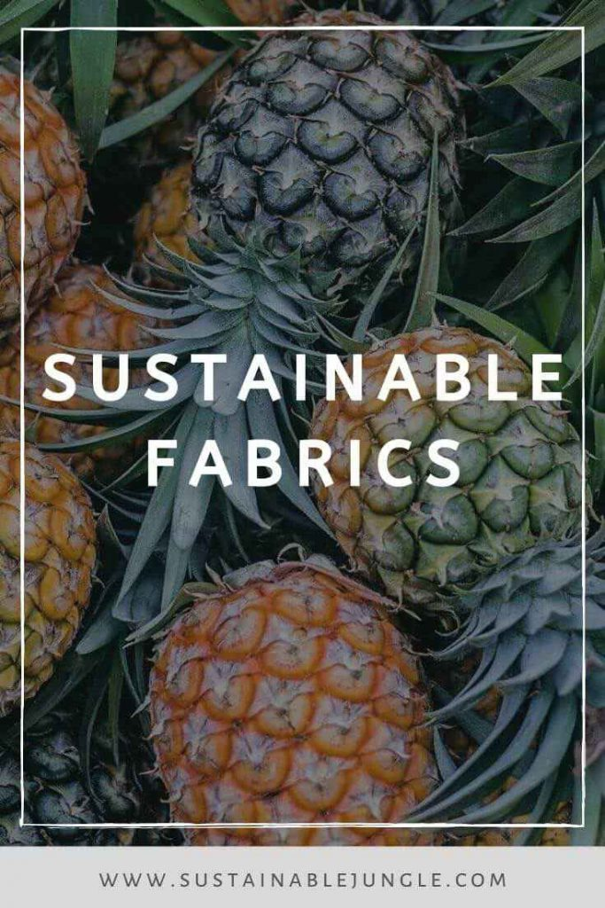 When it comes to sustainable fabrics, it's easy to get buried in options (just like that favorite tee you can never find). Photo by Phoenix Han on Unsplash #sustainablefabrics #sustainablefashion
