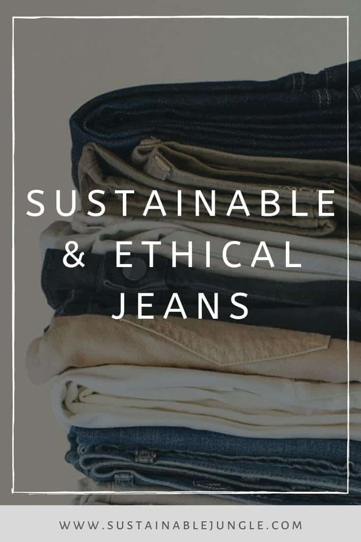 Green is the new blue! For sustainable ethical jeans that is. We're so impressed with these brands Image by Outerknown #ethicaljeans #sustainablejungle