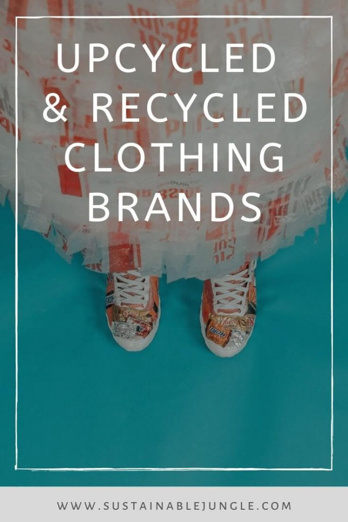 We love preloved! We'd even go so far as to say used clothes are the best clothes, which is why we're loving all these recycled & upcycled clothing brands.  #recylcedclothing #upcycledclothing