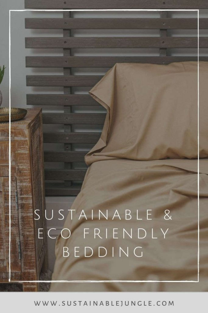 Sustainable and Eco Friendly Bedding Image by Grund America #sustainablebedding #ecofriendlybedding #ecofriendlysheets #sustainablesheets #sustainablejungle