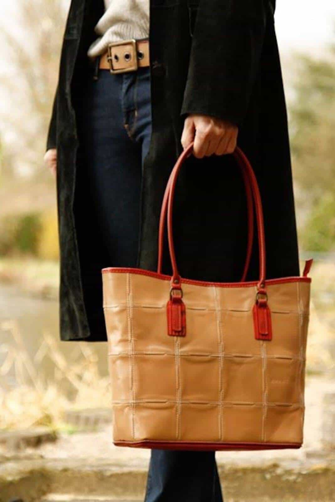 Handcrafted Leather Bag  Luxurious Vegetable Tanned Leather Tote Bag  Antique Leather Women office Bag  Ladies Leather Shoulder Bag