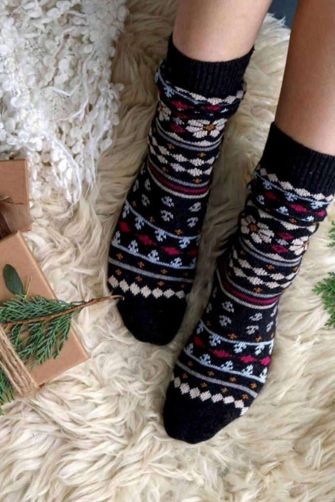 Leave Only Footprints with Sustainable and Eco Friendly Socks Image by Thought #ecofriendlysocks #sustainablesocks #sustainablejungle