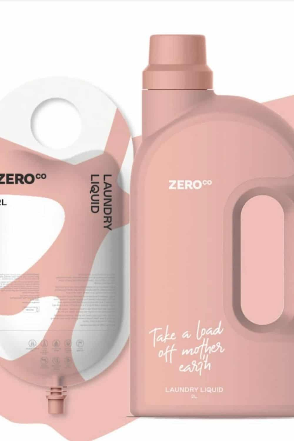 Zero Waste Laundry Detergent Image by Zero Co #zerowastelaundrydetegent #zerowastelaundry #sustainablejungle