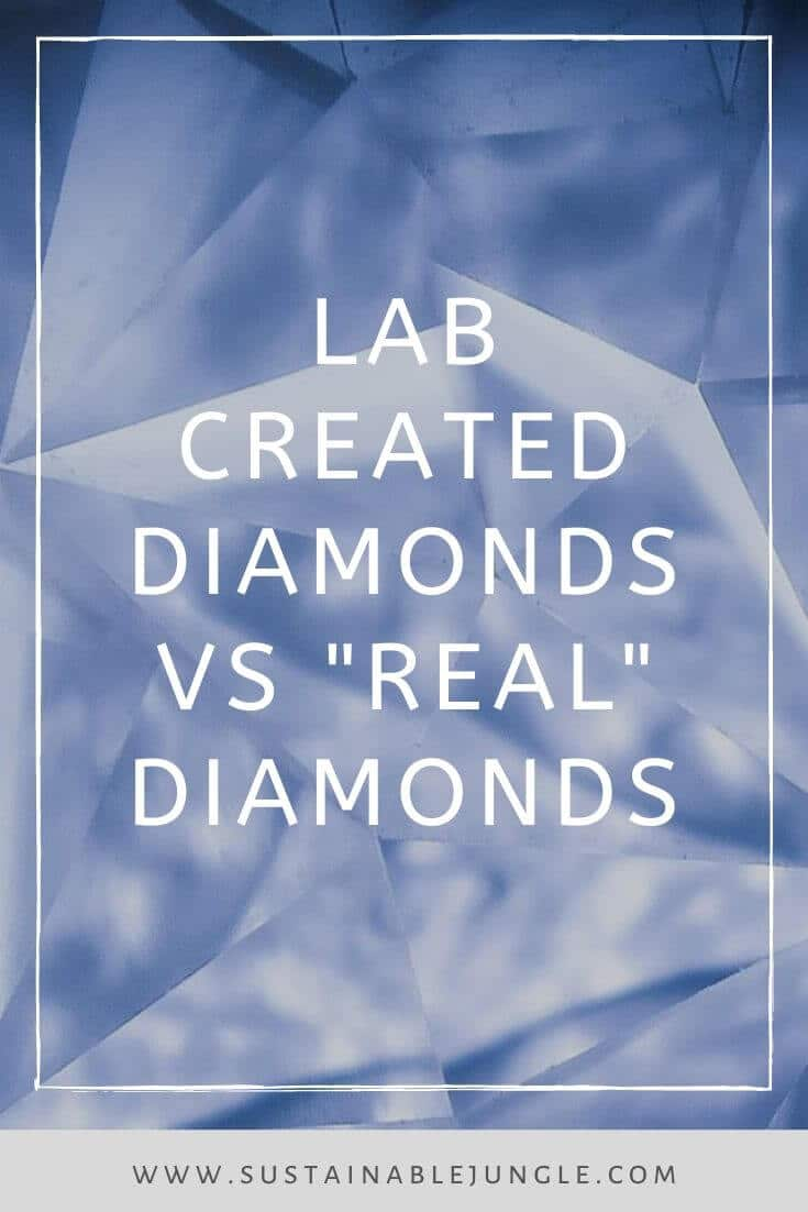 In the name of ethical and sustainable jewelry, we're going to shed some light on an ethical diamond alternative. Photo by Daniele Levis Pelusi on Unsplash #ethicaljewelry #labgrowndiamonds