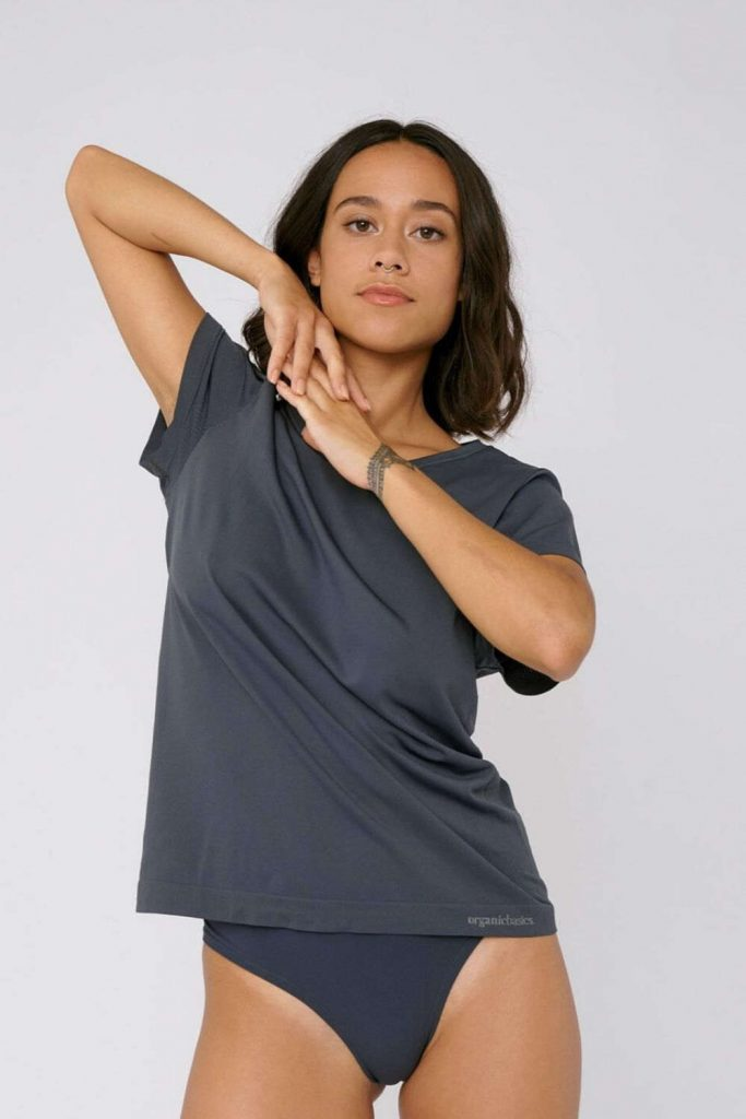 Tee-riffic Sustainable & Eco Friendly T-shirts Image by Organic Basics Image by Organic Basics #ecofriendlytshirts #sustainablefashion