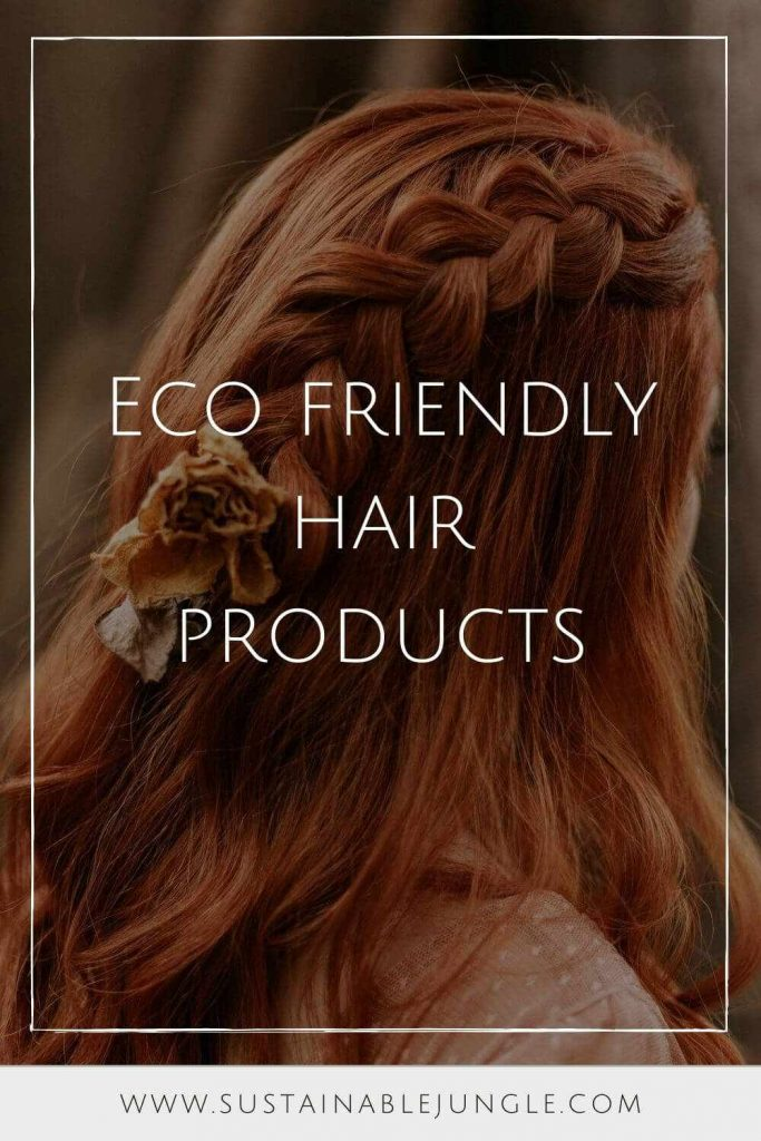 Finding truly ecofriendly products is a bit like washing your hair after camping for a week… it takes a few rounds of scrubbing to see through the grease and grime... Photo by lucas mendes on Unsplash #ecofriendlyhairproducts #sustainablejungle