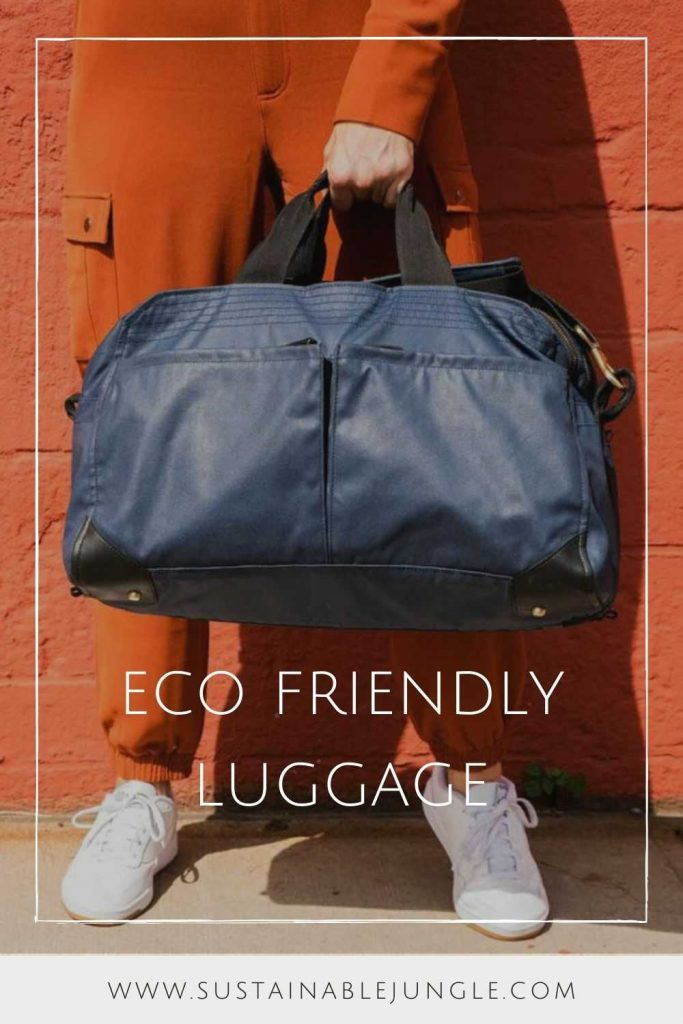 Pack for the Planet with Sustainable & Eco Friendly Luggage Image by Pakt #ecofriendlyluggage #sustainableluggage #sustainablejungle
