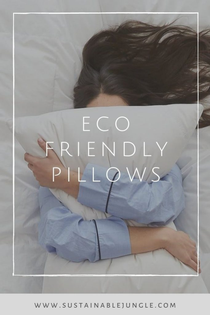 Looking for some sustainable shut eye? We've found some of the best eco friendly pillow brands for the greenest of dreams #sustainablepillows #ecofriendlypillows