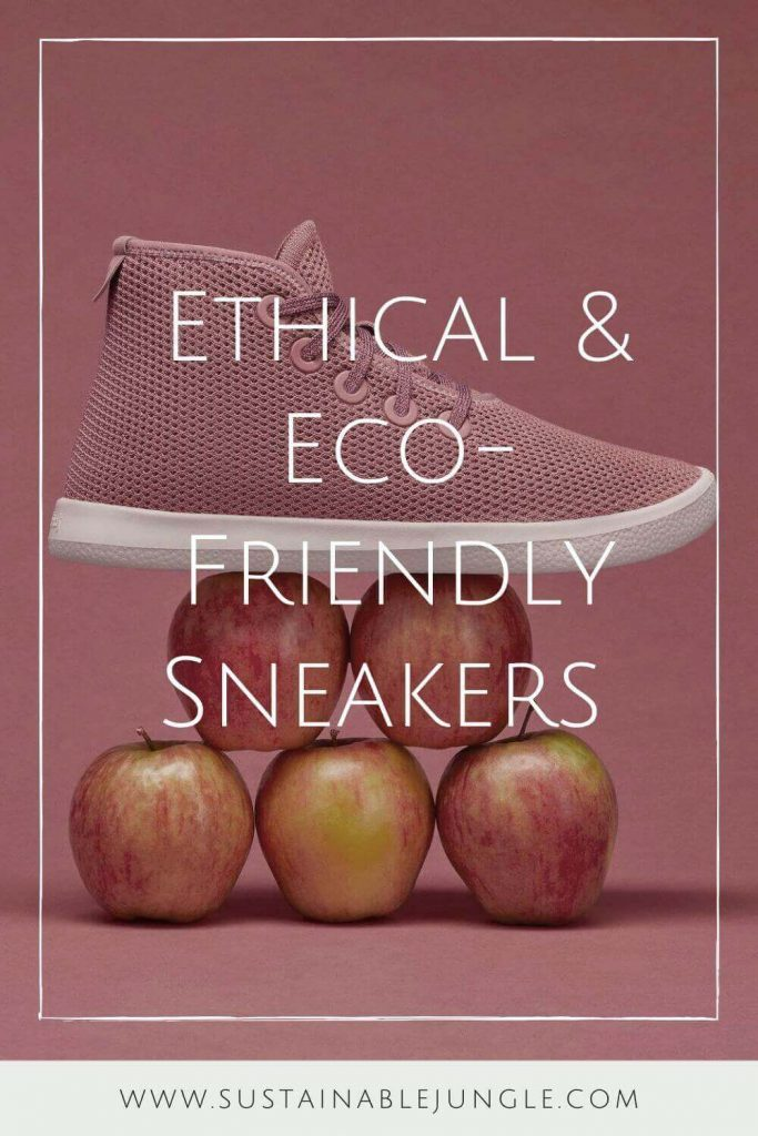 Let's put some sustainability in your step… and move toward eco friendly and ethical sneaker brands. Image by All Birds #ethicalsneakers #ecofriendlysneakers #sustainablejungle