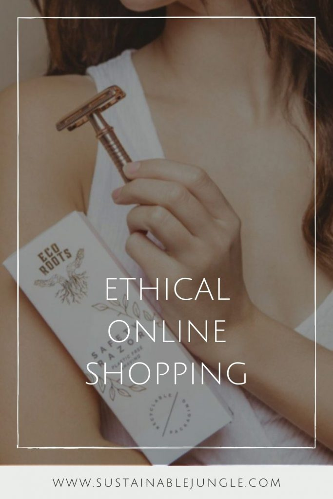 Ethical Online Shopping: Eco Stores to Shop Sustainably  #ethicalonlineshopping #ethicalonlineshops #sustainablejungle