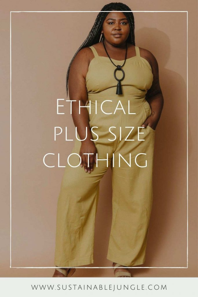 Body-Positive Brands for Sustainable and Ethical Plus Size Clothing #ethicalplussizeclothing #sustainableplussizeclothing #sustainablejungle
