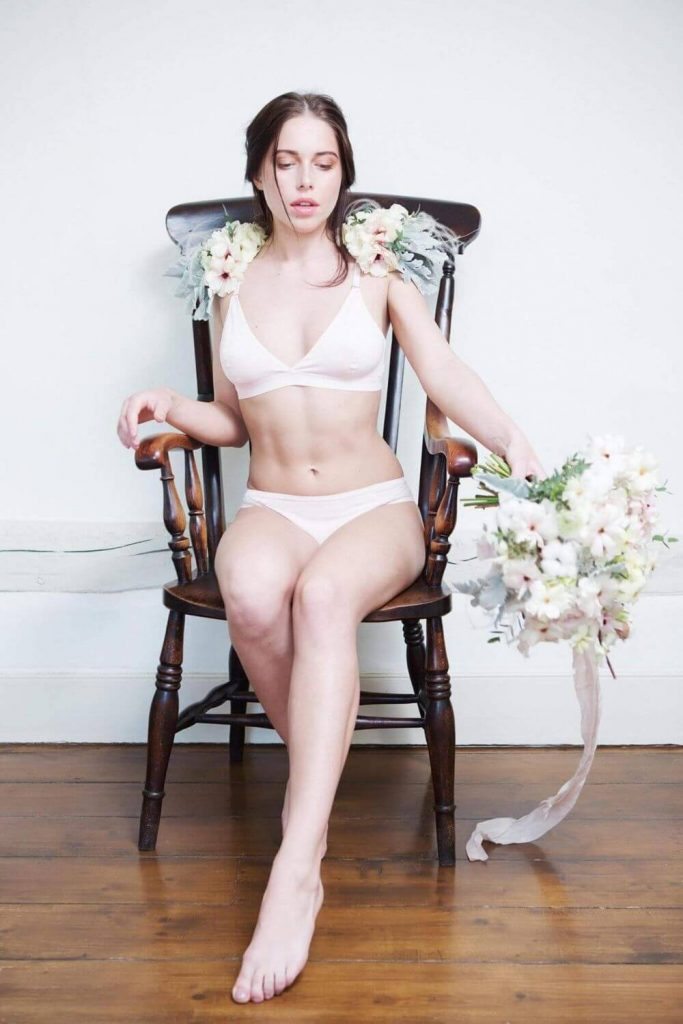 In the spirit of making patooties more planet-friendly, we stripped down to find some boudoir ethical lingerie brands worthy of bedroom eyes Image by AmaElla #ethicallingerie #sustainablelingerie #sustainablejungle