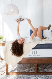 Stop Counting Sheep with a Eco Friendly & Sustainable Mattress Brands Image by Brentwood Home #sustainablemattress #ecofriendlymattress #sustainablejungle