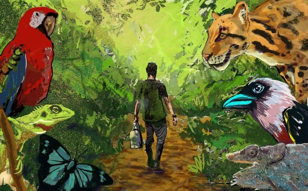 With climate change and biodiversity loss happening at an alarming rate, it's high time we tune in to conservation issues, what better way than to start subscribing to some inspiring, educational and environmental podcasts out there. Image by Gianluca Cerullo Conservation Uncut Podcast #environmentalpodcasts #sustainablejungle