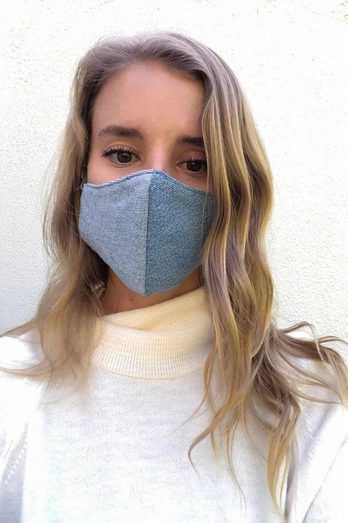 Sustainable Face Masks:  Eco Friendly Brands Protecting You and the Planet Image by HSF Collective #sustainablefacemasks #ecofriendlyfacemasks #sustainablemasks #sustainablejungle