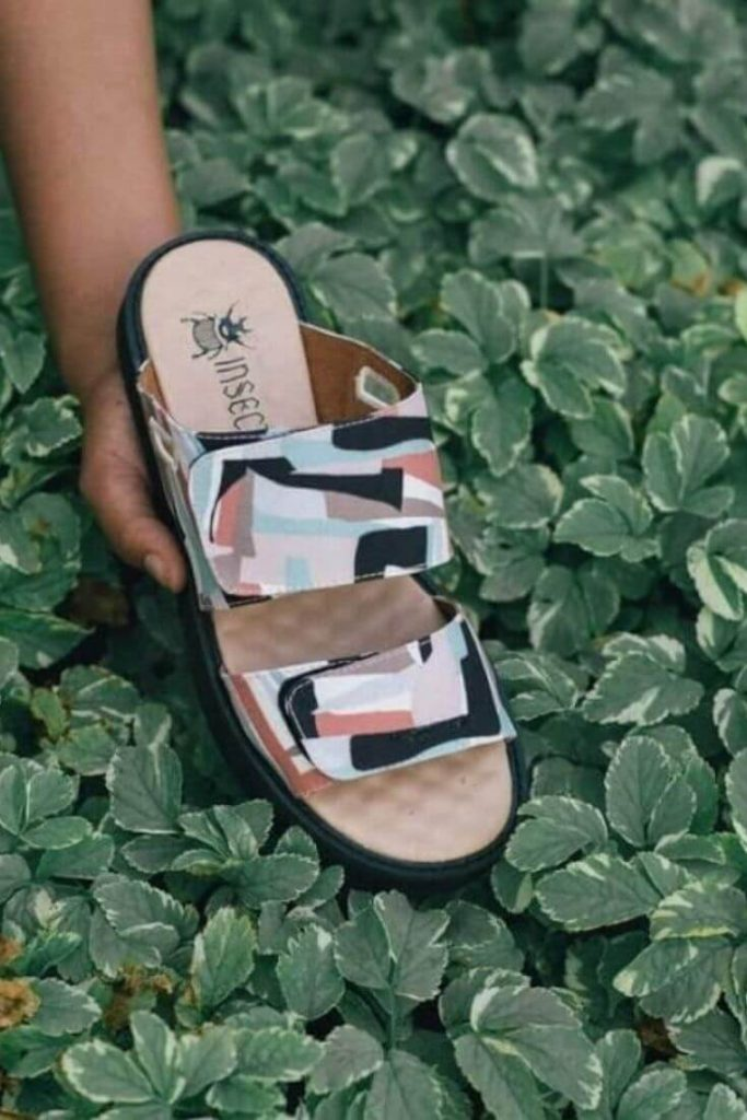 In the spirit of walking towards a greener future, we've been hunting for ethical and eco friendly sandals Image by Insecta #ecofriendlysandals #ethicalfashion