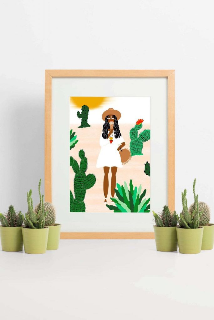 Black Owned Etsy Art And Jewelry Shops for Ethical Empowerment Image by Lovely Earthlings #blackownedetsyshops #blackownedetsyartshops #blackownedetsyjewelryshops #sustainablejungle