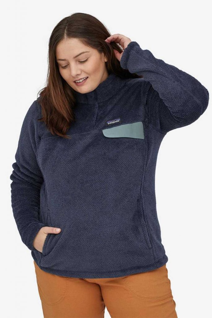 Body-Positive Brands for Sustainable and Ethical Plus Size Clothing Image by Patagonia #ethicalplussizeclothing #sustainableplussizeclothing #sustainablejungle