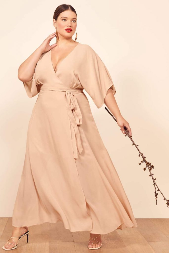 Body-Positive Brands for Sustainable and Ethical Plus Size Clothing Image by Reformation #ethicalplussizeclothing #sustainableplussizeclothing #sustainablejungle