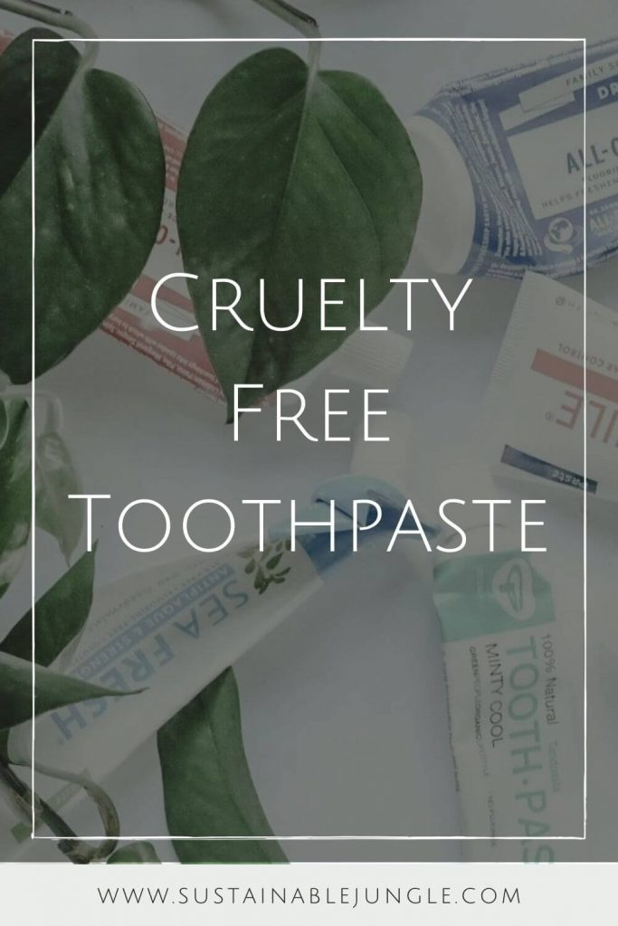 Toothpaste is probably the most regularly used body care product around which is why it was one of the first products we scrutinized for sustainable, cruelty free toothpaste alternatives... #crueltyfreetoothpaste #sustainablejungle