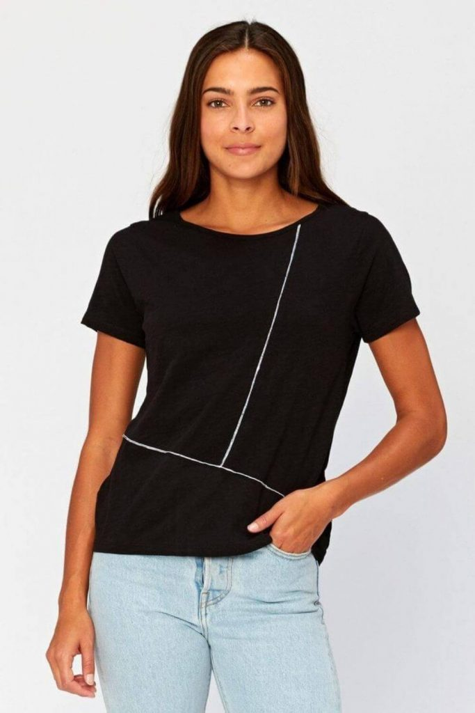 In a genuine effort to dot our I's and cross our Tees, here is our list of sustainable and eco friendly T-shirts Image by Threadt 4 Thought #ecofriendlytshirts #sustainabletshirts #sustainablejungle