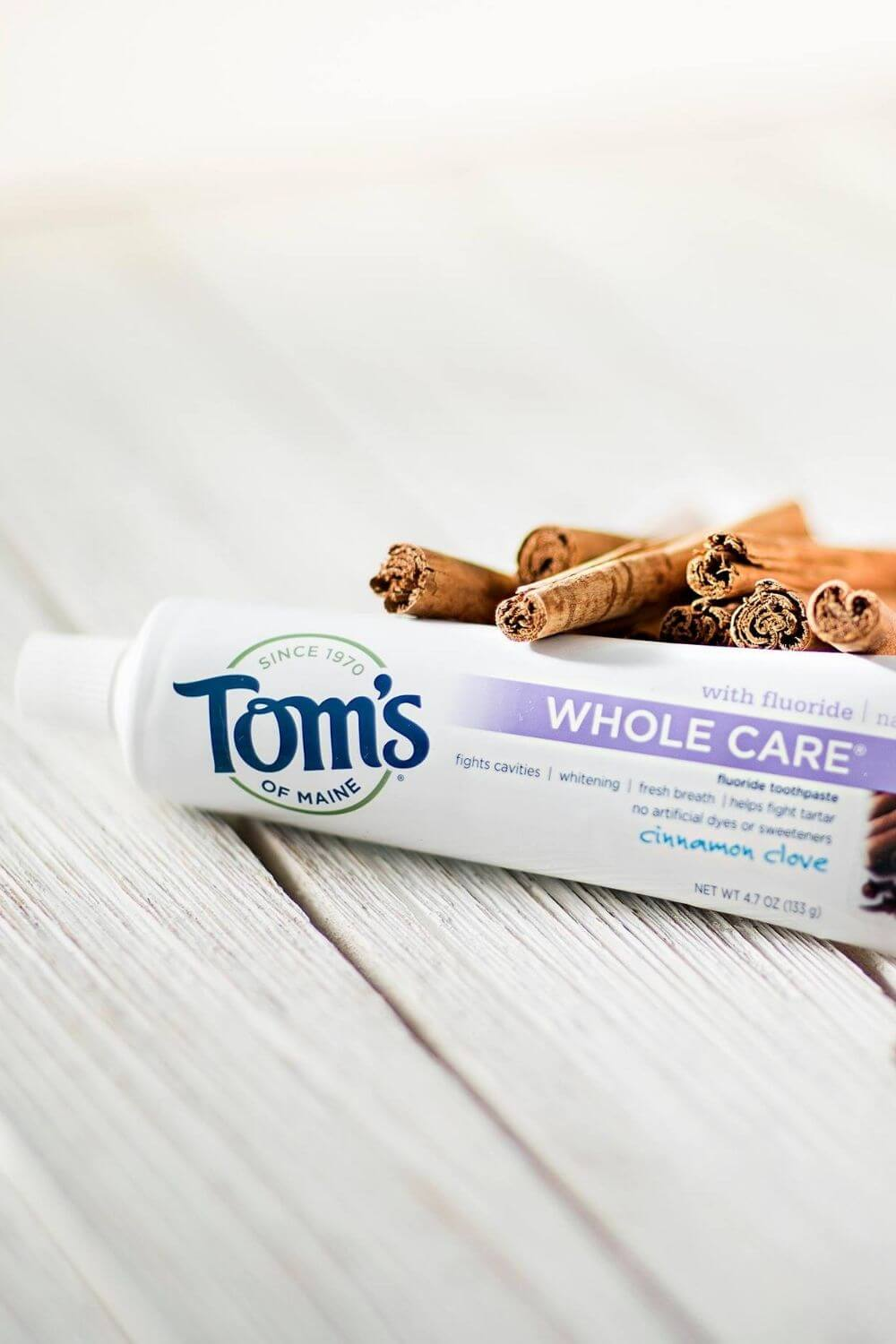 Toothpaste is probably the most regularly used body care product around which is why it was one of the first products we scrutinized for sustainable, cruelty free toothpaste alternatives... Image by Tom's Of Maine #crueltyfreetoothpaste #sustainablejungle