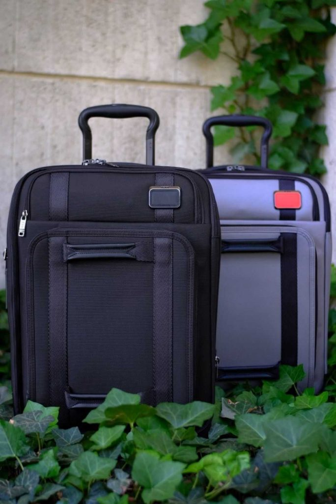 Pack for the Planet with Sustainable & Eco Friendly Luggage Image by TUMI #ecofriendlyluggage #sustainableluggage #sustainablejungle