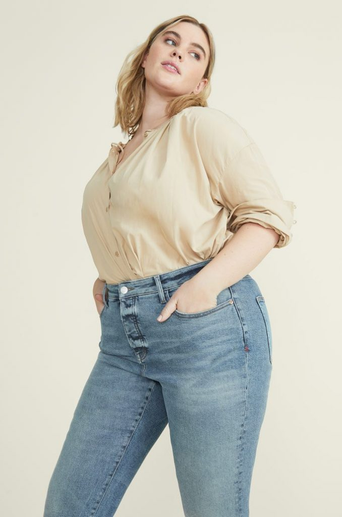 Body Positive Brands for Sustainable and Ethical Plus Size Clothing Image by Warp + Weft #ethicalplussizeclothing #sustainableplussizeclothing #sustainablejungle