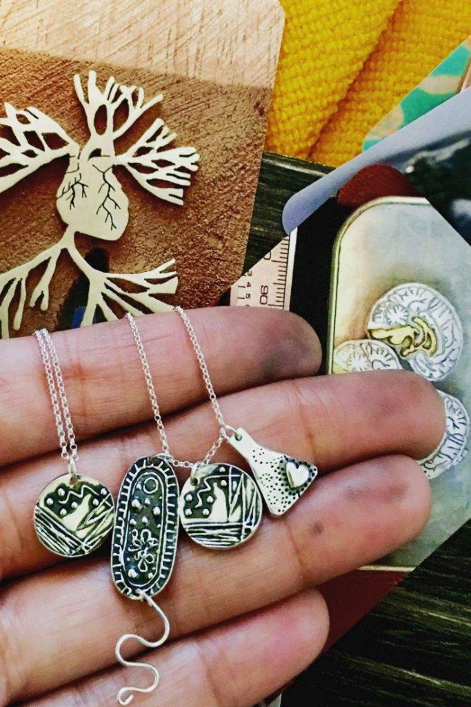 Black Owned Etsy Art And Jewelry Shops for Ethical Empowerment Image by NB Designs #blackownedetsyshops #blackownedetsyartshops #blackownedetsyjewelryshops #sustainablejungle