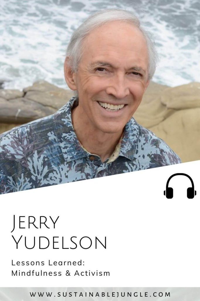 Lessions learned on mindfulness and activism with Jerry Yudelson on The Sustainable Jungle Podcast