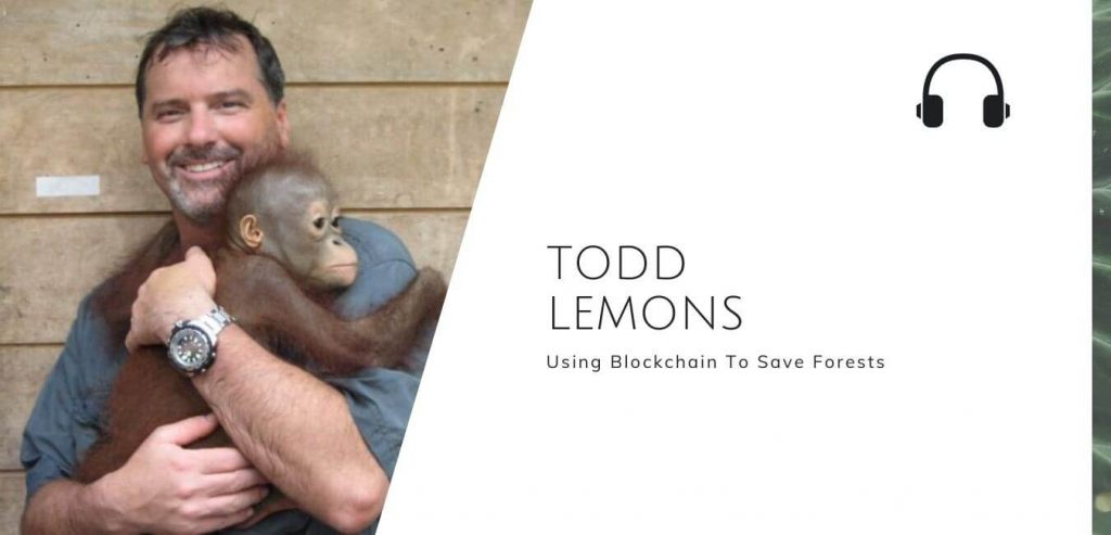Using Blockchain To Save Forests with Todd Lemons on the Sustainable Jungle Podcast #sustainablejungle