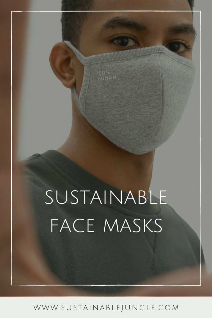 Sustainable Face Masks:  Eco Friendly Brands Protecting You and the Planet #sustainablefacemasks #ecofriendlyfacemasks #sustainablemasks #sustainablejungle