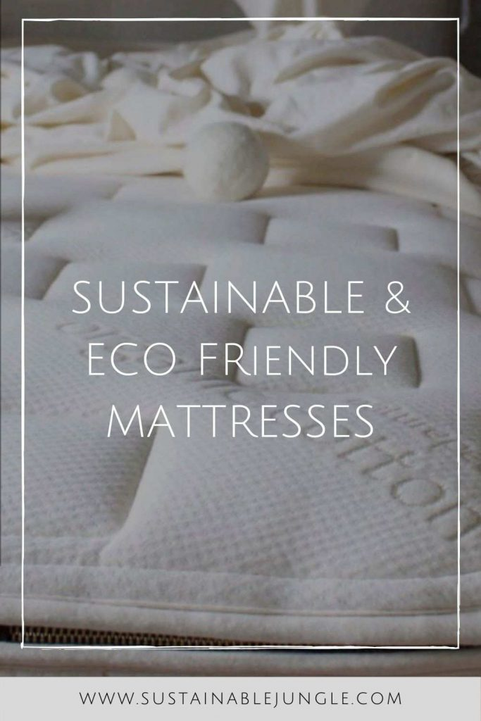 Stop Counting Sheep with a Eco Friendly & Sustainable Mattress  Brands #sustainablemattress #ecofriendlymattress #sustainablejungle