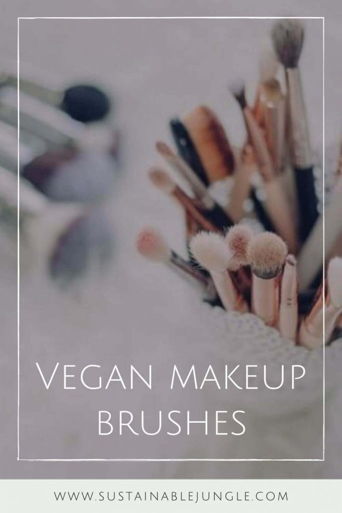 We've sought out the best cruelty free vegan makeup brushes to give you the tools (literally) to make your ENTIRE makeup routine absent the animals. Photo by freestocks.org on Unsplash #veganmakeupbrushes #sustainablejungle