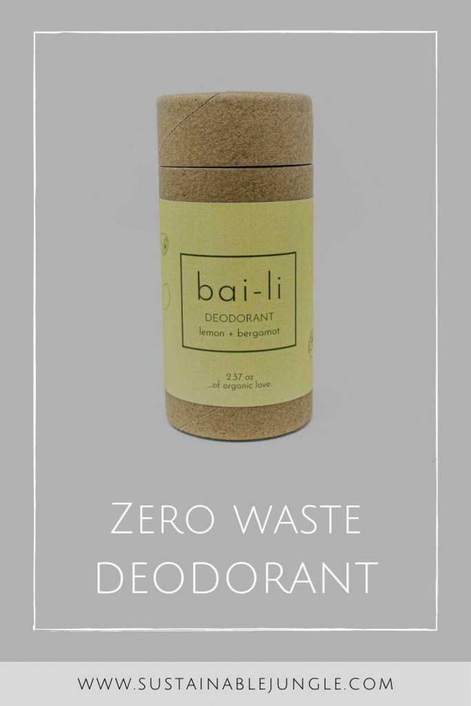 Looking for a zero waste deodorant alternative? Here's our list of options for stink-free sustainable pits Image by Bai-li #zerowastedeodorant #sustainablejungle