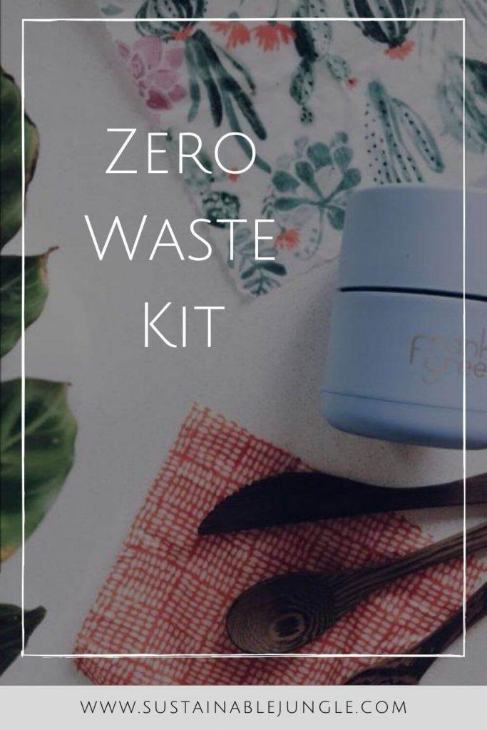 And a good place to start living the life of less waste is a zero waste kit. #zerowastekit #Zerowasteeverydaykit #sustainablejungle