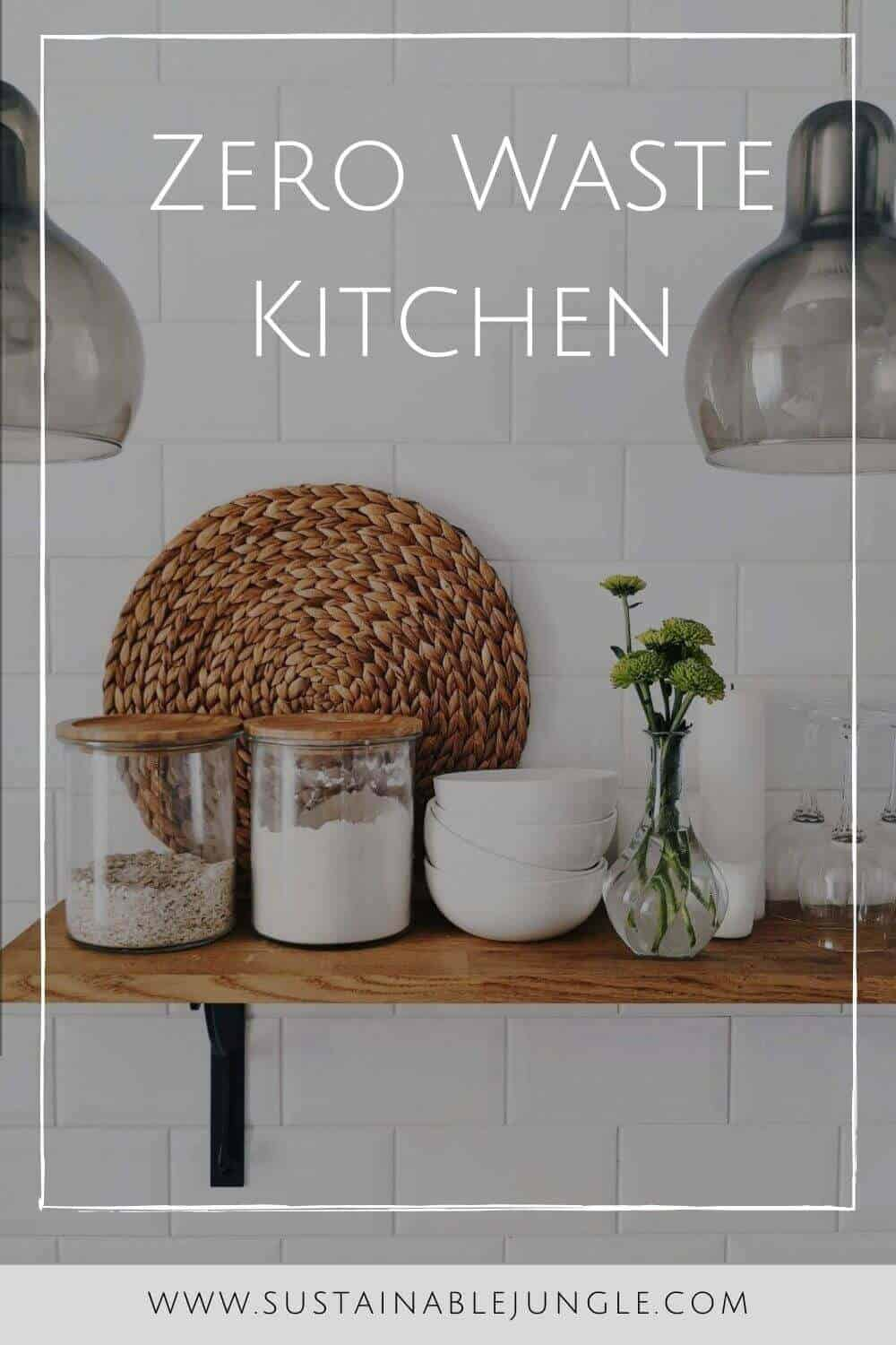 Let's get cooking and plate up 10 delicious zero waste kitchen swops to make your kitchen a less wasteful space. Photo by Uliana Kopanytsia on Unsplash #zerowastekitchen #sustainablejungle