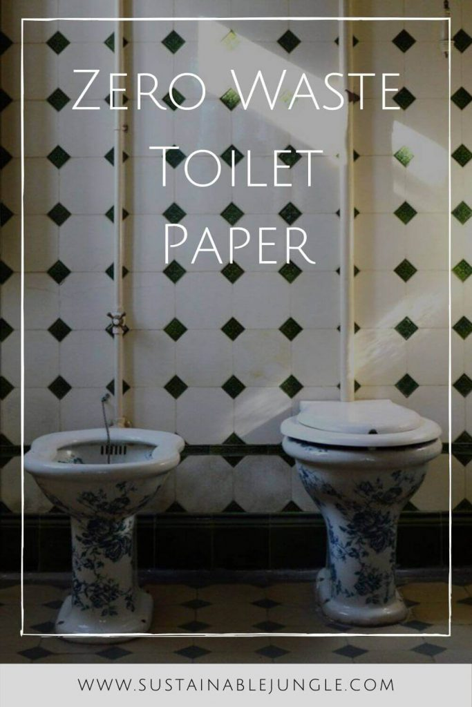We're going to get down and dirty and talk about sustainable butts and zero waste toilet paper. Believe it or not, there are more options than you might think! Photo by Renee Verberne on Unsplash #zerowastetoiletpaper #ecofriendlytoiletpaper #sustainablejungle