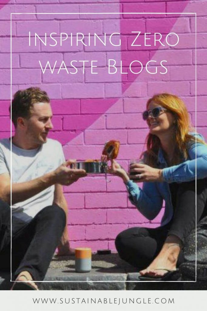 We wanted to share some of the best zero waste blogs that have inspired us on our own zero waste journey. These individuals have also inspired tens of thousands (dare we say, millions?) around the world. Image by Reusable Nation #zerowasteblogs #sustainablejungle