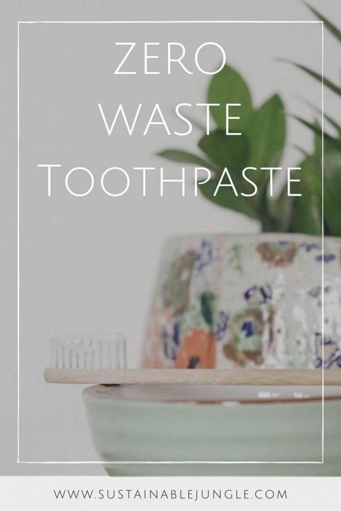 The whole idea of zero waste makes us smile, so we thought we'd take a moment to talk zero waste toothpaste #zerowastetoothpaste #sustainablejungle