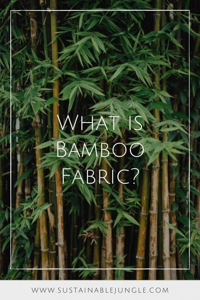 Bamboo fabric: a panda-feeding, Earth-friendly material OR a trending fabric dangerously prone to abuse and greenwashing? #bamboofabric #sustainablejungle