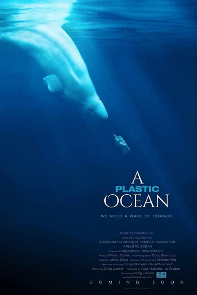 For that extended staycation you never planned on, here's our list of the best environmental films. Image by A Plastic Ocean #environmentalfilms #bestenvironmentalfilms #sustainablejungle