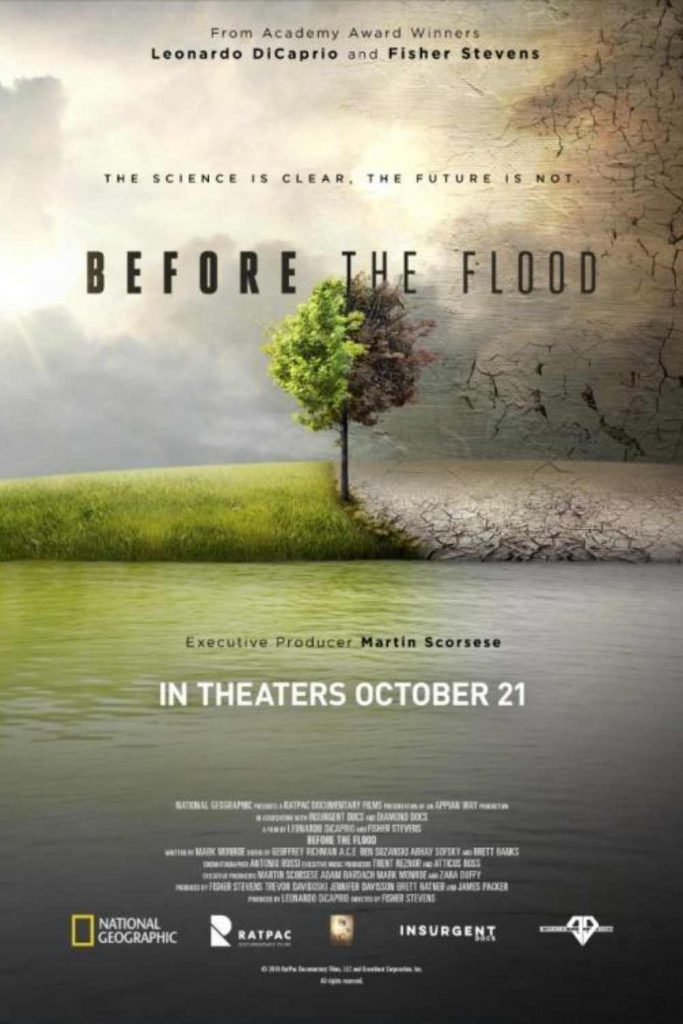For that extended staycation you never planned on, here's our list of the best environmental films. Image by Before the Flood #environmentalfilms #bestenvironmentalfilms #sustainablejungle