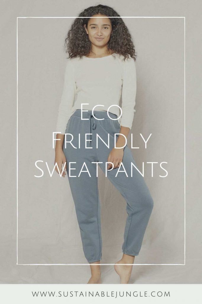 Whether you're switching to a healthier lifestyle (because, yes, apparently some people actually sweat in eco friendly sweatpants) or you simply want something comfier. Image by Boody #ecofriendlysweatpants was #sustainablesweatpants #sustainablejungle