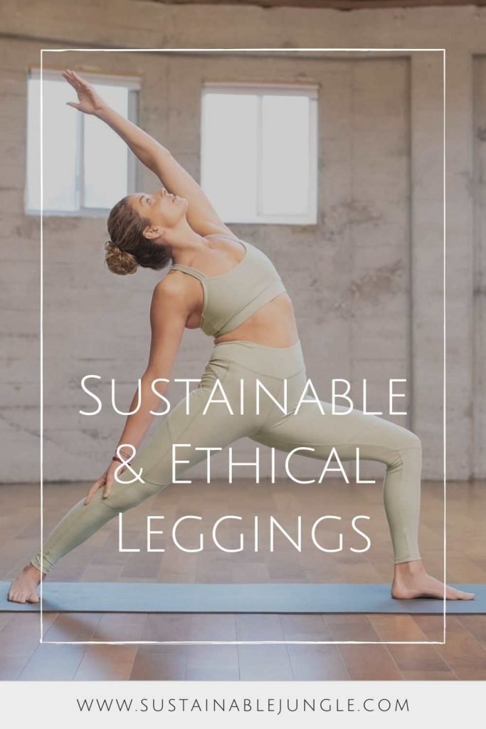 Is there any item of clothing that's as ubiquitous and un-live-without-able as ethical leggings? Casual or dressy; active or leisure; winter or summer—ethical leggings are (almost) always a good choice. Image by Synergy #ethicalleggings #sustainableleggings #environmentallyfriendlyleggings #sustainablejungle
